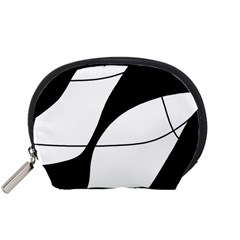 White and black shadow Accessory Pouches (Small)