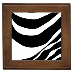 White or black Framed Tiles