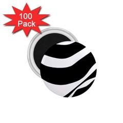 White or black 1.75  Magnets (100 pack)