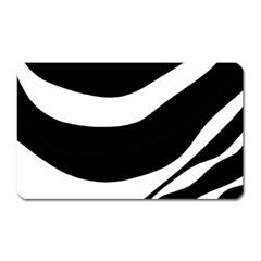 White or black Magnet (Rectangular)