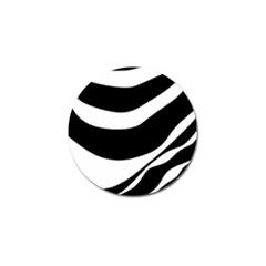 White or black Golf Ball Marker (4 pack)