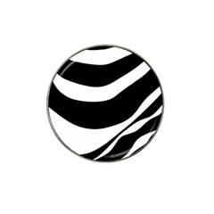 White or black Hat Clip Ball Marker (10 pack)