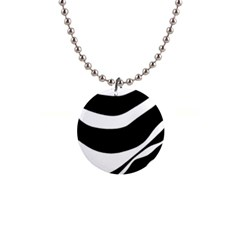 White or black Button Necklaces