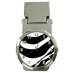 White or black Money Clip Watches