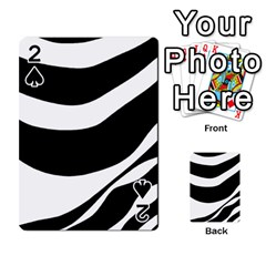 White or black Playing Cards 54 Designs
