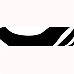 White or black Large Bar Mats