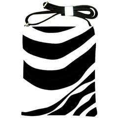 White or black Shoulder Sling Bags