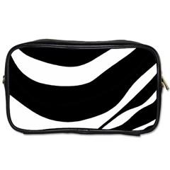 White or black Toiletries Bags