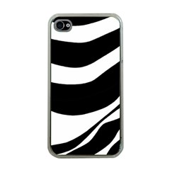 White or black Apple iPhone 4 Case (Clear)