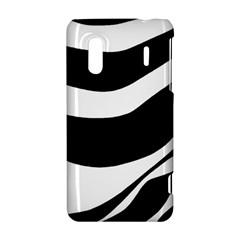 White or black HTC Evo Design 4G/ Hero S Hardshell Case