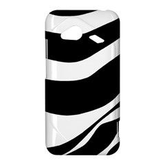White or black HTC Droid Incredible 4G LTE Hardshell Case