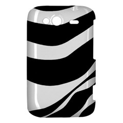 White or black HTC Wildfire S A510e Hardshell Case