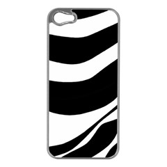White or black Apple iPhone 5 Case (Silver)