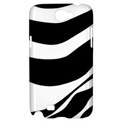 White or black Samsung Galaxy Note 2 Hardshell Case