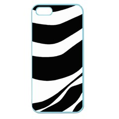 White or black Apple Seamless iPhone 5 Case (Color)