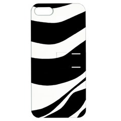 White or black Apple iPhone 5 Hardshell Case with Stand