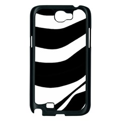 White or black Samsung Galaxy Note 2 Case (Black)