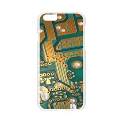 Circuit Computer Plate  Apple Seamless iPhone 6/6S Case (Transparent)