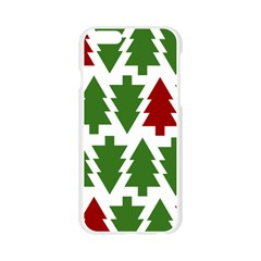 Christmas Trees Apple Seamless iPhone 6/6S Case (Transparent)