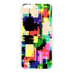 Color Abstract Background Textures Apple Seamless iPhone 6 Plus/6S Plus Case (Transparent)