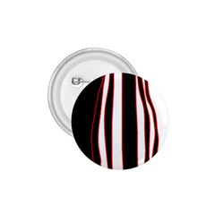 White, red and black lines 1.75  Buttons