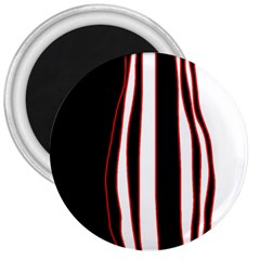 White, red and black lines 3  Magnets