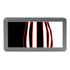 White, red and black lines Memory Card Reader (Mini)