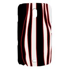 White, red and black lines Samsung Galaxy Nexus i9250 Hardshell Case