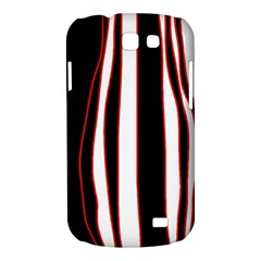 White, red and black lines Samsung Galaxy Express I8730 Hardshell Case