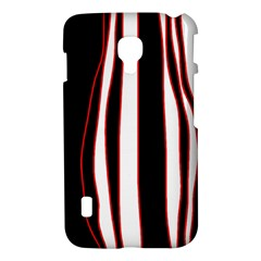 White, red and black lines LG Optimus L7 II