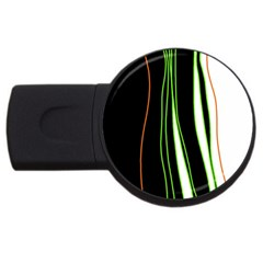 Colorful lines harmony USB Flash Drive Round (1 GB)