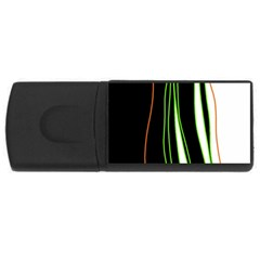 Colorful lines harmony USB Flash Drive Rectangular (1 GB)