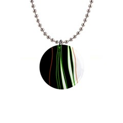 Colorful lines harmony Button Necklaces