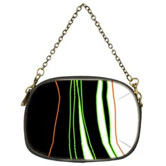 Colorful lines harmony Chain Purses (Two Sides)