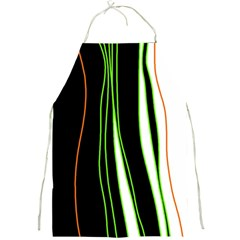 Colorful lines harmony Full Print Aprons
