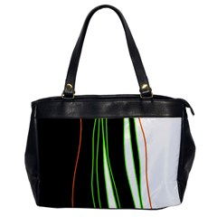 Colorful lines harmony Office Handbags