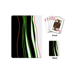 Colorful lines harmony Playing Cards (Mini)