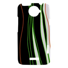 Colorful lines harmony HTC One X Hardshell Case