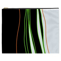 Colorful lines harmony Cosmetic Bag (XXXL)