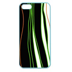 Colorful lines harmony Apple Seamless iPhone 5 Case (Color)