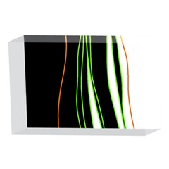 Colorful lines harmony 4 x 6  Acrylic Photo Blocks