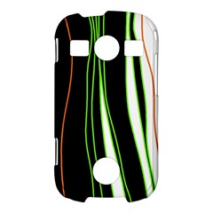 Colorful lines harmony Samsung Galaxy S7710 Xcover 2 Hardshell Case