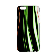 Colorful lines harmony Apple iPhone 6/6S Hardshell Case