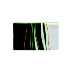 Colorful lines harmony Cosmetic Bag (XS)