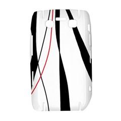 Red, white and black elegant design Bold 9700