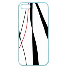 Red, white and black elegant design Apple Seamless iPhone 5 Case (Color)