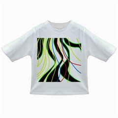Colorful lines - abstract art Infant/Toddler T-Shirts