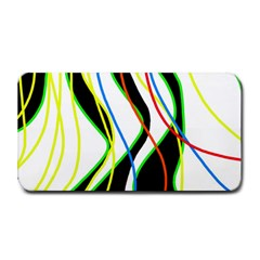 Colorful lines - abstract art Medium Bar Mats