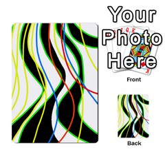 Colorful lines - abstract art Multi-purpose Cards (Rectangle)