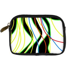 Colorful lines - abstract art Digital Camera Cases